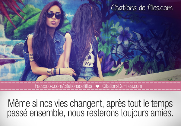 citations filles