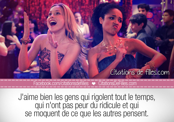citations de code de fille